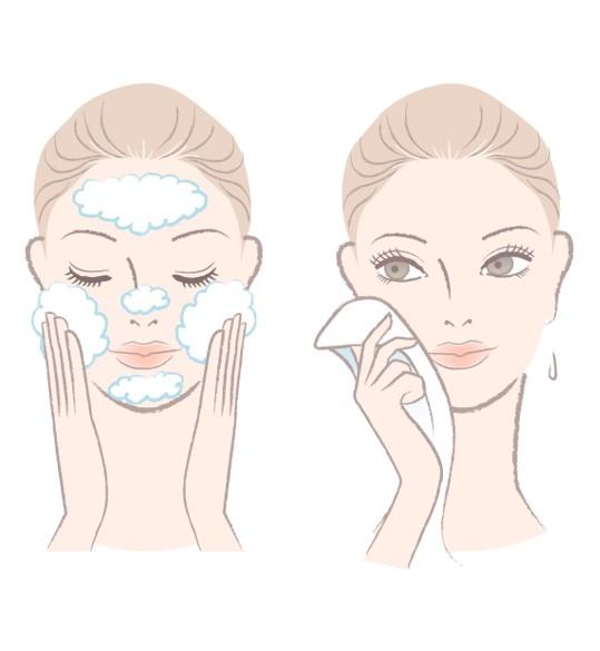 peau du visage