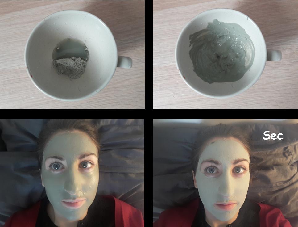 Masque à l'argile verte 2
