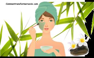 Masques et gommages naturels