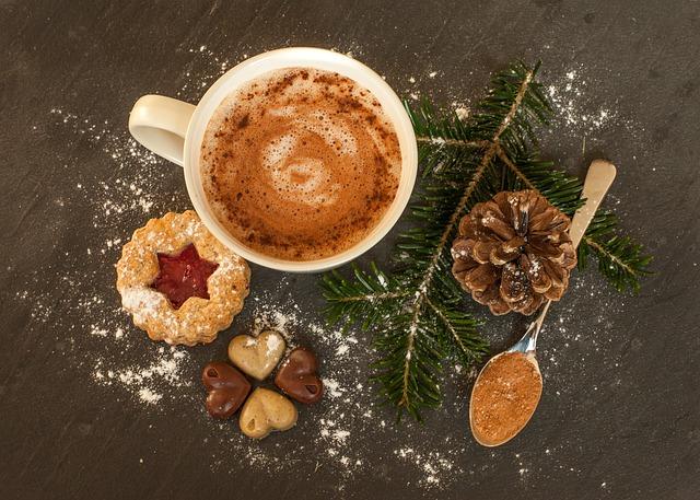 chocolat chaud au lait d'amandes