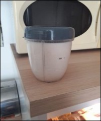 Préparation lait d'amandes
