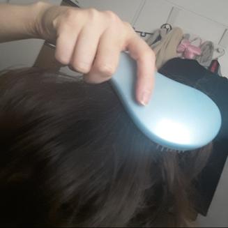 Utilisation shampoing sec
