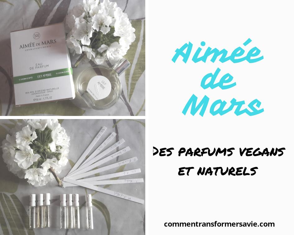 Parfums naturels et végans