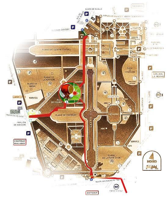 plan parc des sceaux
