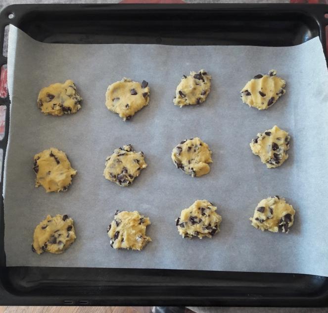 Recette de cookies moelleux étape 4
