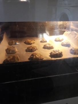 Recette de cookies moelleux étape 5