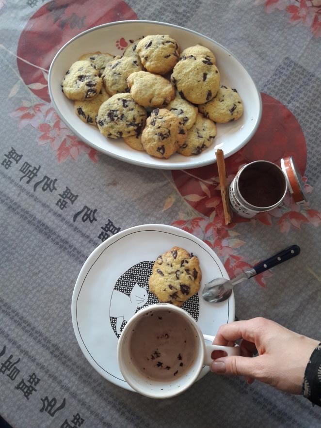 Recette de cookies moelleux