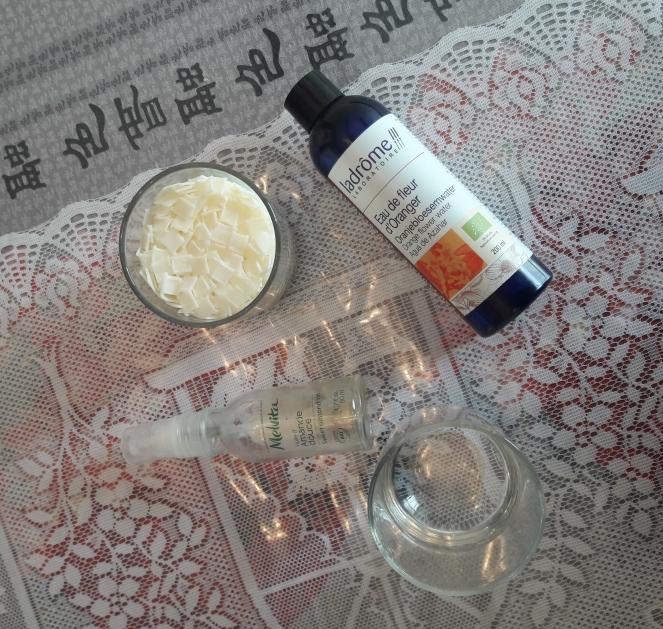 Ingrédients recette pour savon sans saponification